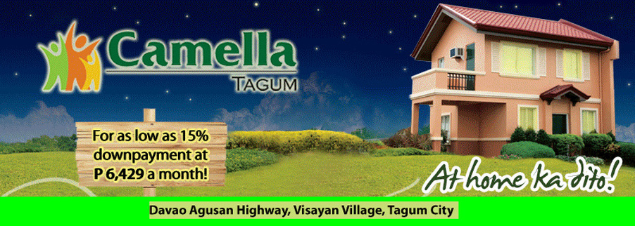 Tagum Philippines  City new picture : CAMELLA HOMES Tagum PHILIPPINES REAL ESTATE FilipinoHomes ...